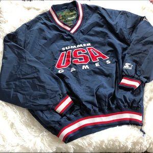 Olympics Atlanta 1996 windbreaker jacket